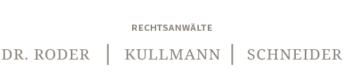 Dr. Roder | Kullmann | Schneider